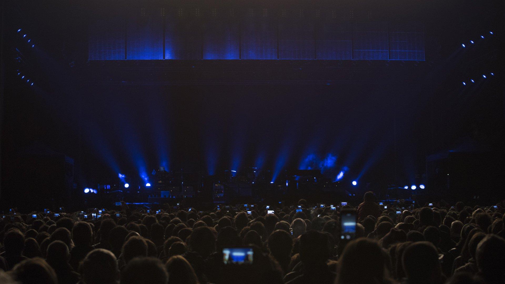 Cerca de 45 mil personas asistieron al show del ex beatle