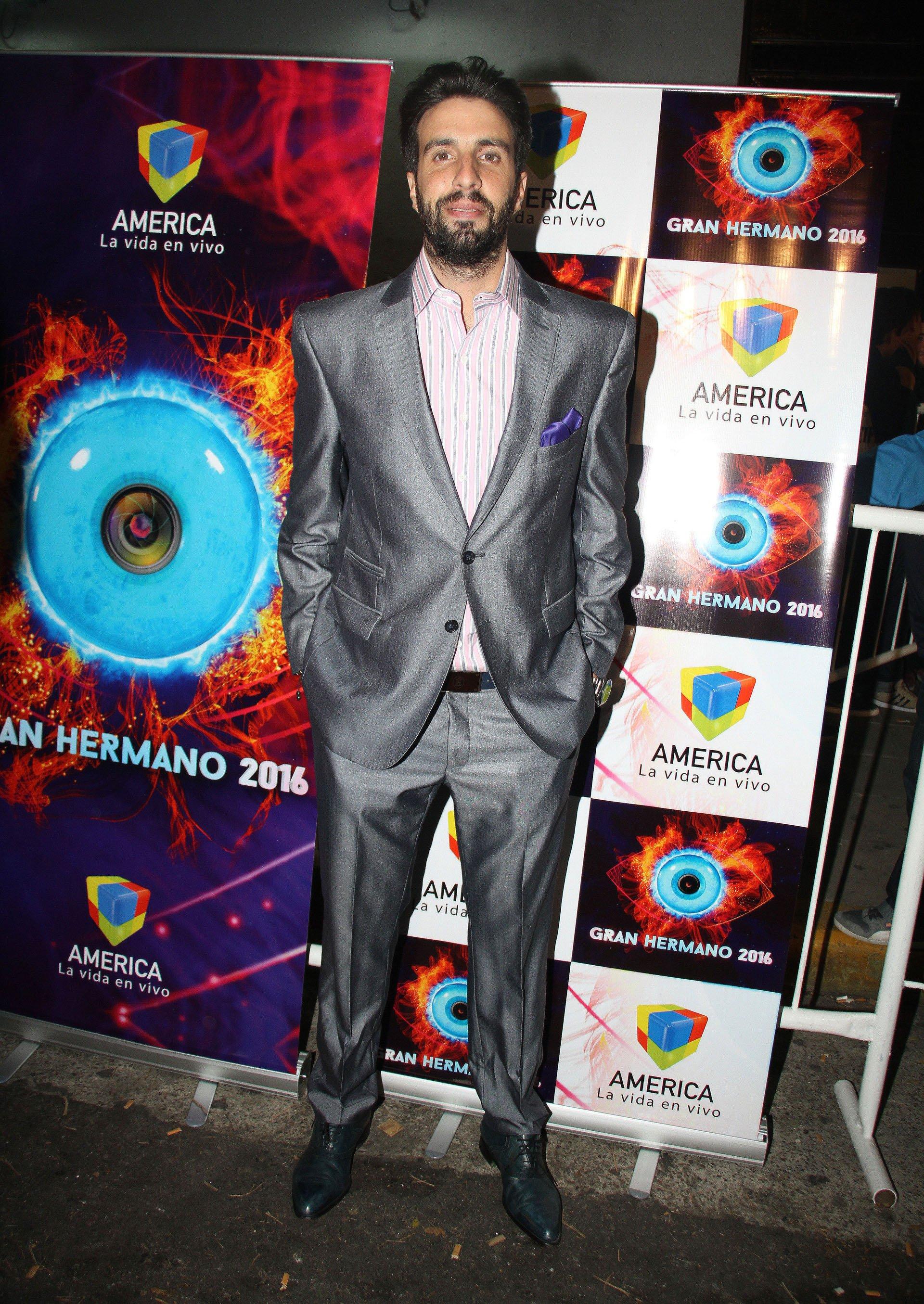 Flavio Azzaroen el debut de Gran Hermano 2016