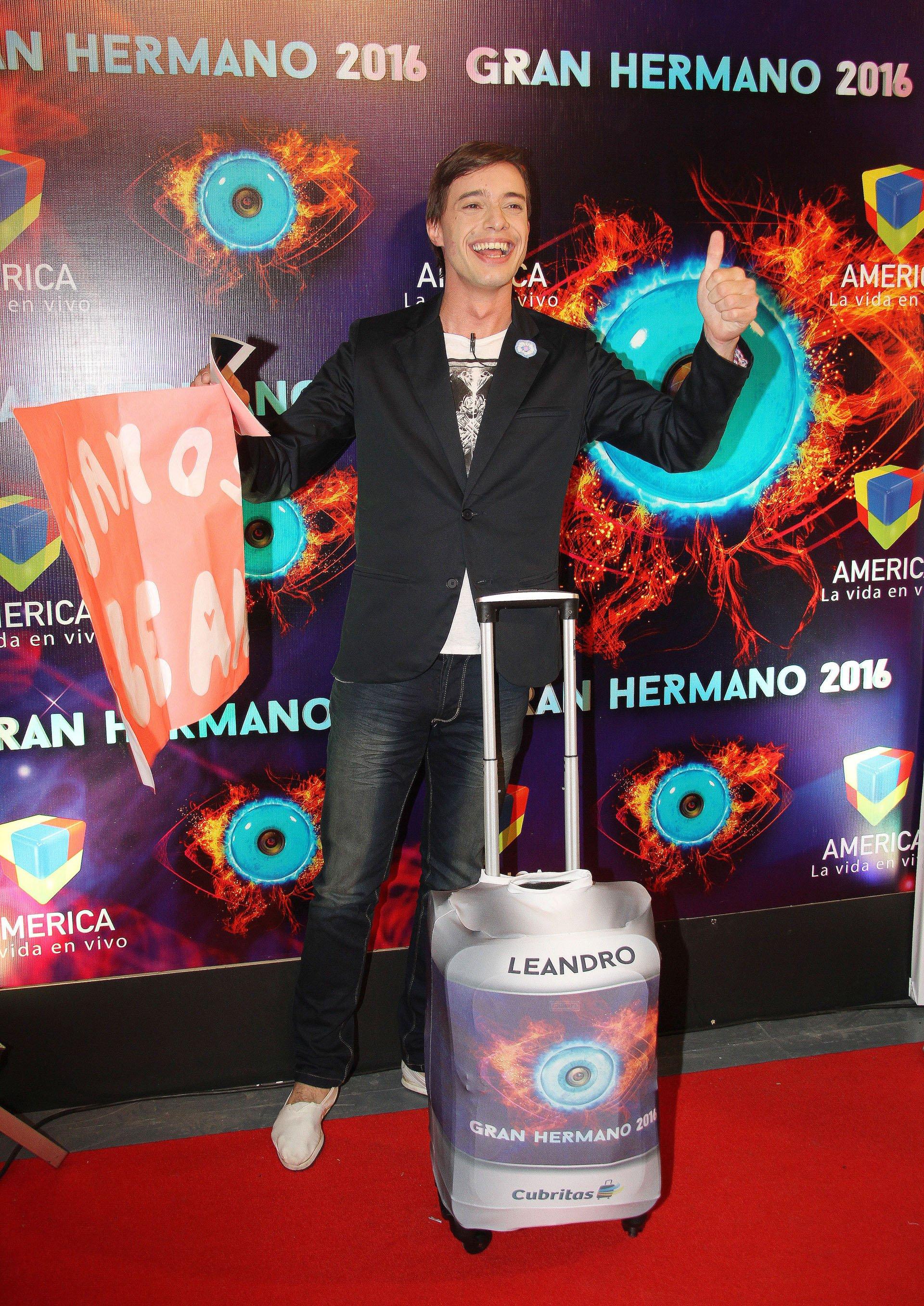 Gran Hermano 2016: Leandro Robin